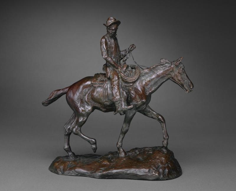 Will Rogers on Horseback