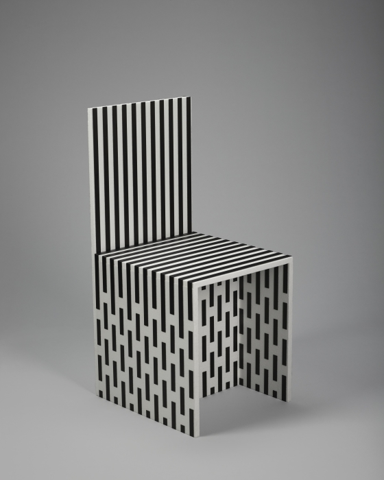 Visible Structures: Chair (White)