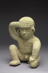 Kneeling Male Statue