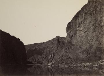 Black Cañon, Colorado River, Looking Below from Big Horn Camp