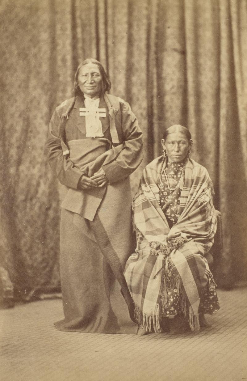 Stone Calf and Wife, Cheyenne