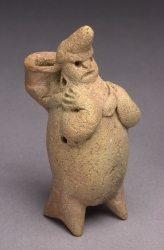 Standing Human Figure with Bowl