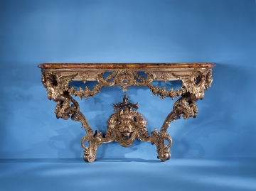 Baroque and Rococo Console Table