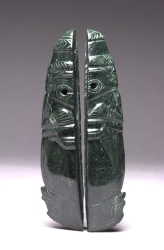 Pair of Split Celt Pendants