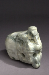 Carved Mace Head