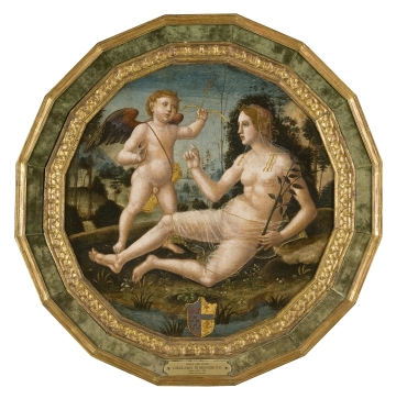 Venus with Cupid
