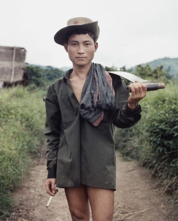 Member of the KNLA, Burma from the series Something Went Wrong