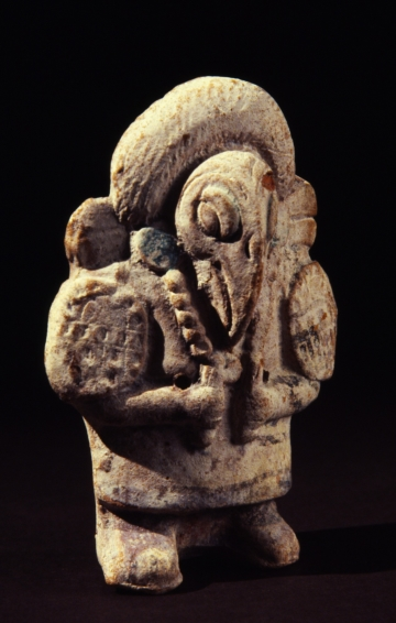 Jaina-style Rattle of a Vulture-Headed Figure