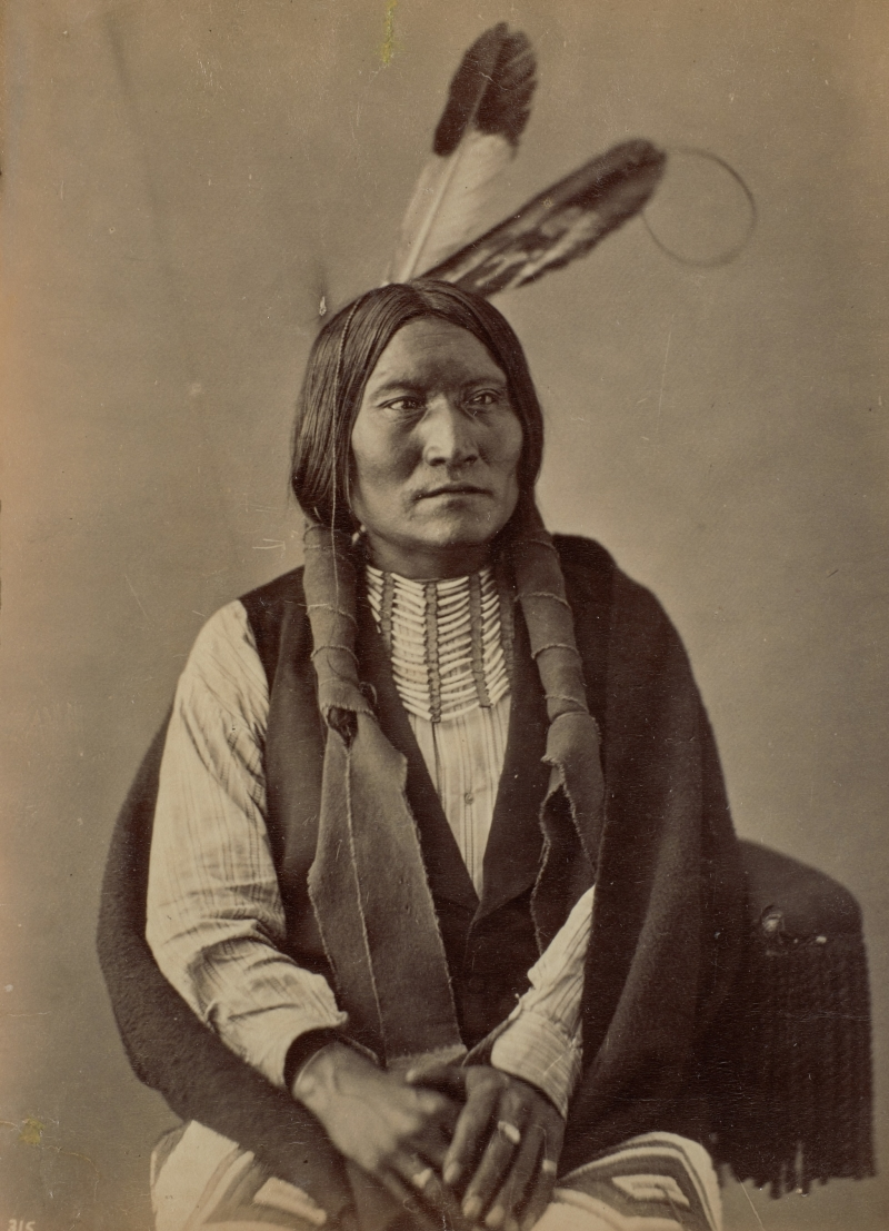 I-Te'-Sha'-Pa or Ite Sapa (Dirty Face or Dirt Face), Oglala Lakota