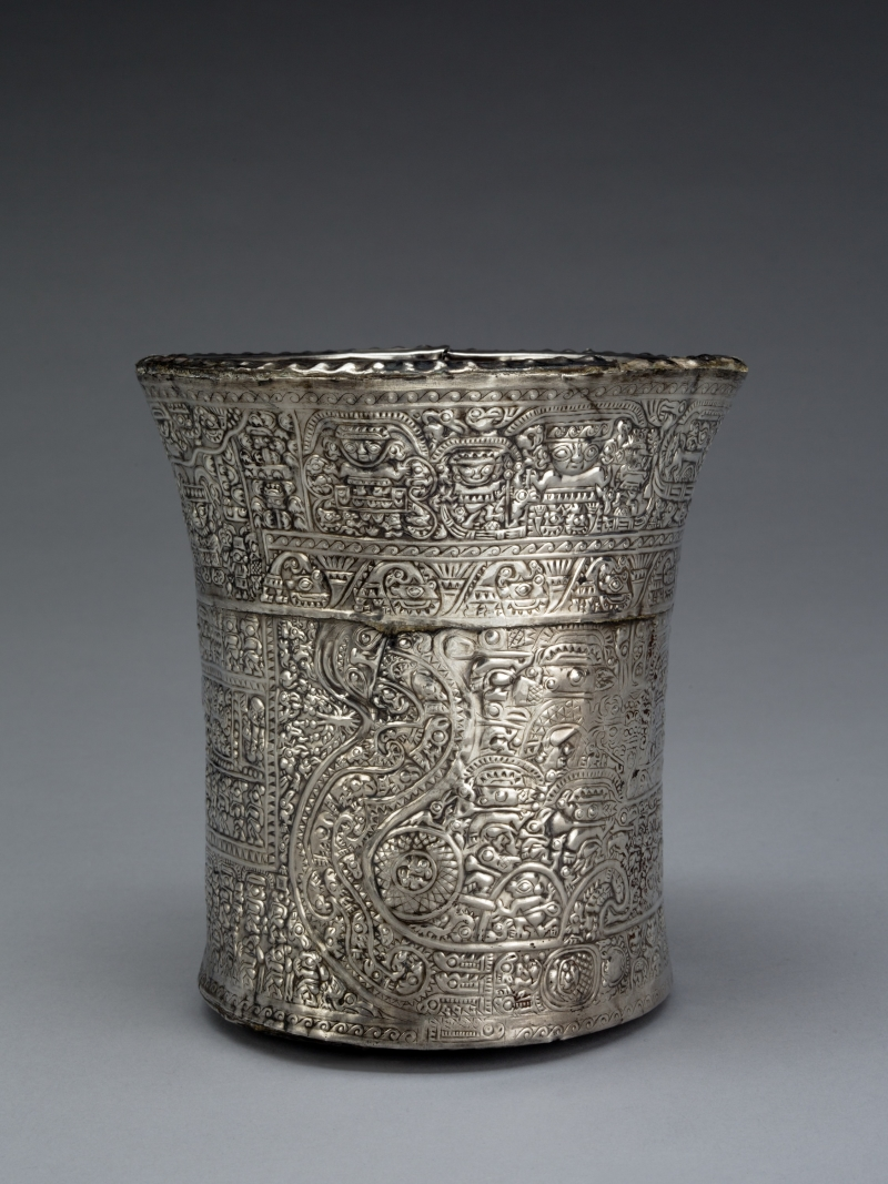 Double-walled Beaker with Mythological Scene