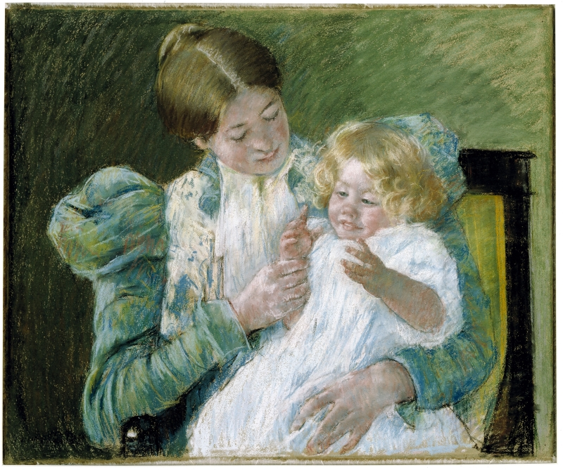 Pattycake (Mother and Child)