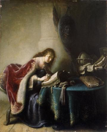 Minerva in her Study