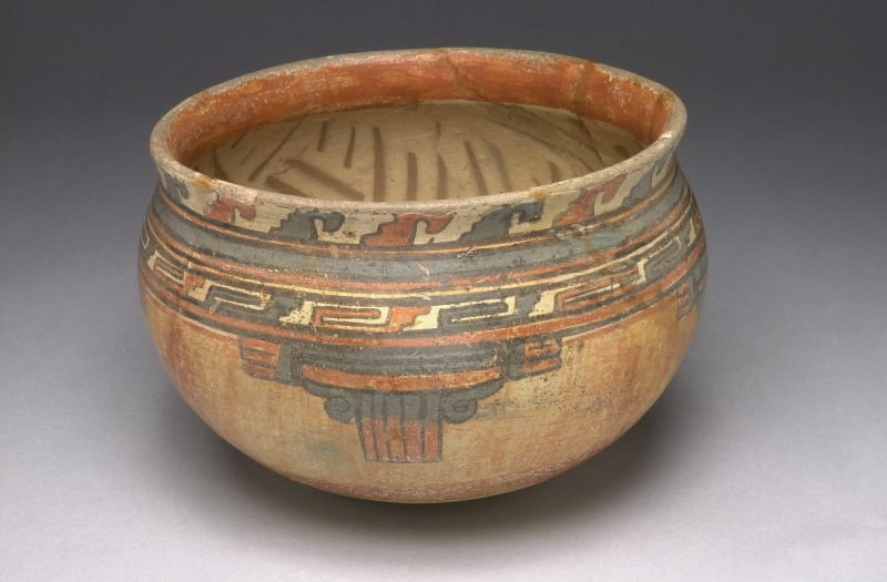 Bowl with Painted Geometric Designs