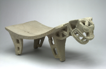 Jaguar-form Metate