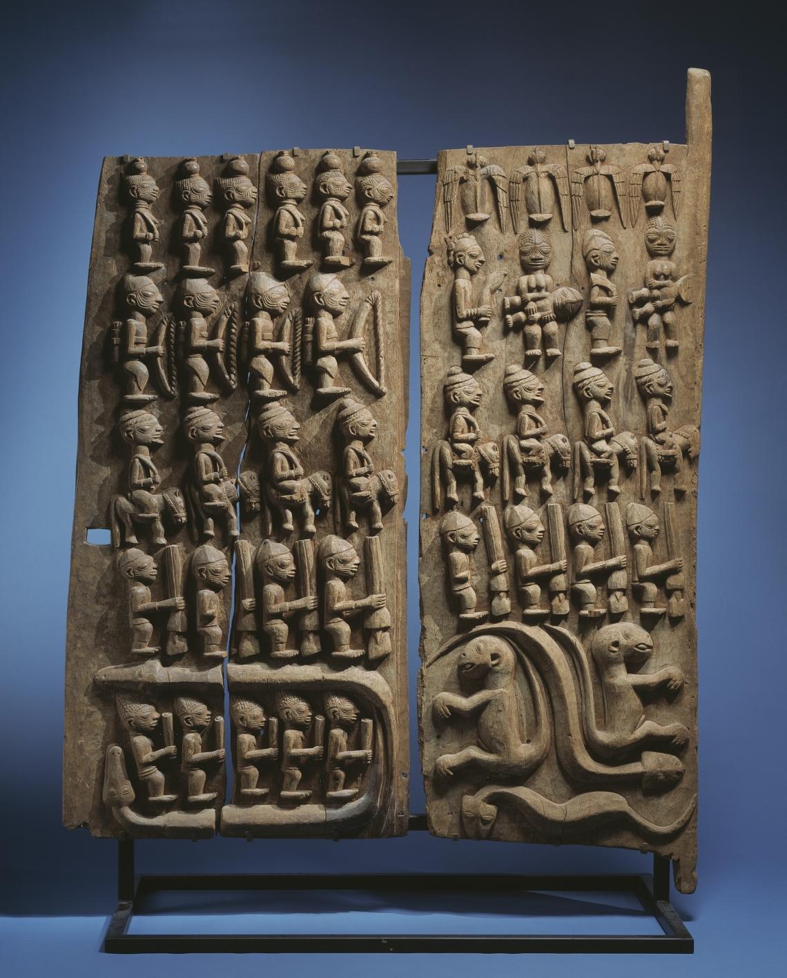 Yoruba Door Panels