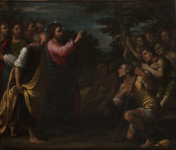 Christ Healing the Lepers