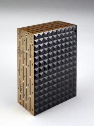Display Box (Kazaribako) with Snake Grass and Lozenge Design
