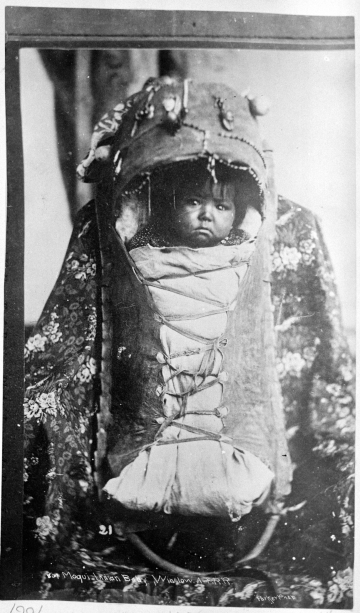 Hopi Indian Baby, Winslow, A. & P. R. R.