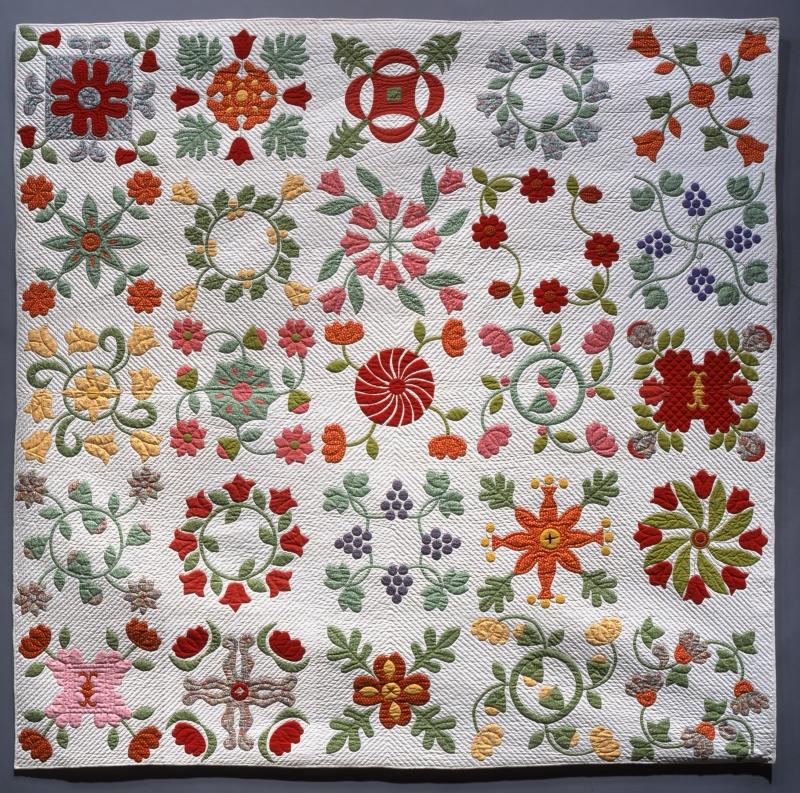 Album Quilt: Lennartson Family Pattern
