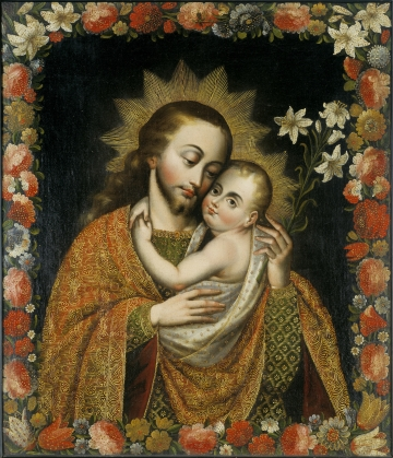St. Joseph and the Christ Child