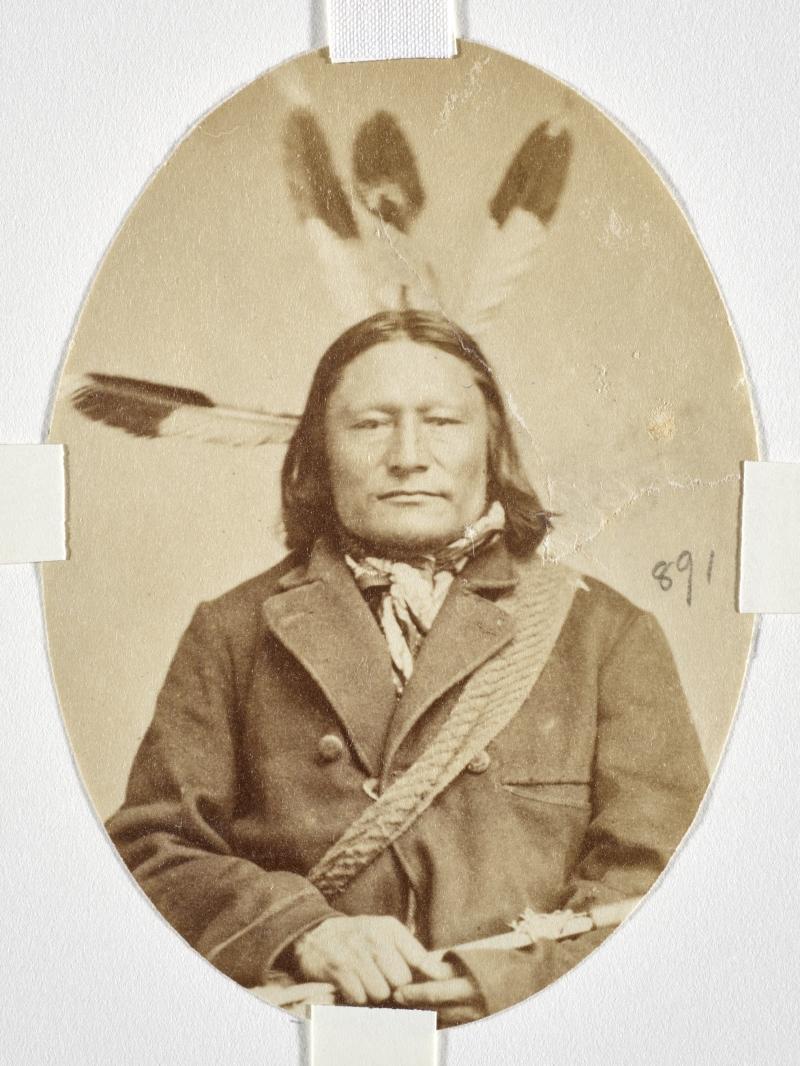 Mato Wayumni (Grizzly Bear That Turns Around) or Ma-Ta-Wa-Yu-Mi (The Bear That Frightens), Yankton Dakota