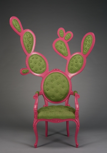 Prickly Pair Chair, Gentleman's Style