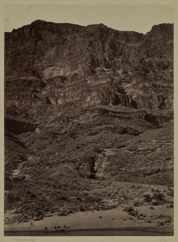 Wall in the Grand Cañon, Colorado River