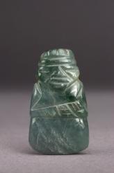Miniature Figural Celt Pendant