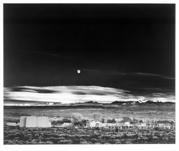 Moonrise, Hernandez , New Mexico
