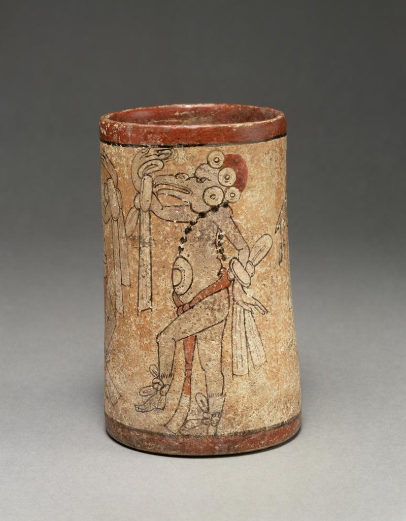 Vase with Bird-Headed Dancers