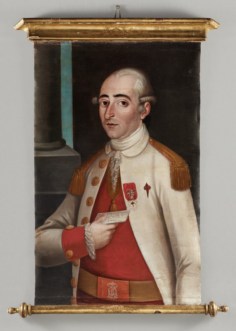 Portrait of Captain F. Casana