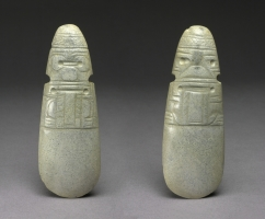 Figural Celt Pendants