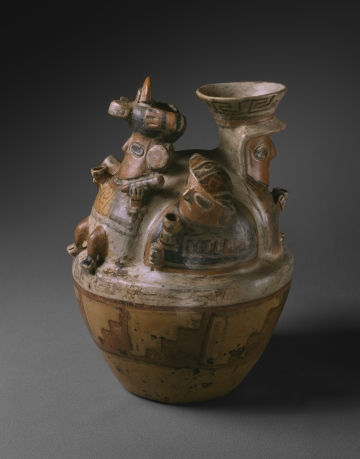 Vessel with Human Figures