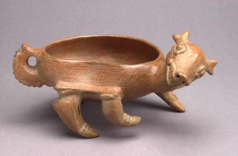 Deer-form Bowl