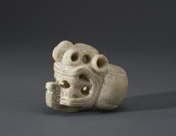 Serpent-form Mace Head