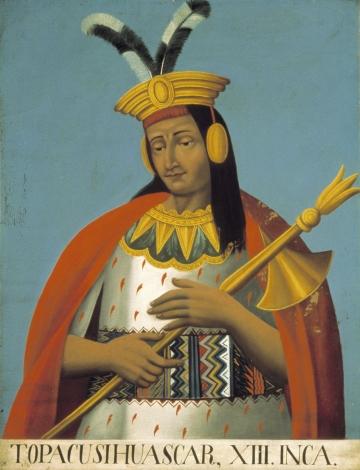 Topacusi Huascar, XIII, Inca