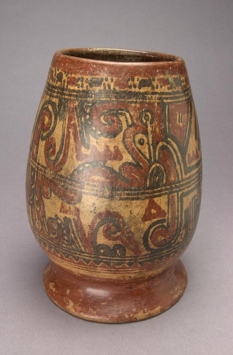 Pedestal Jar