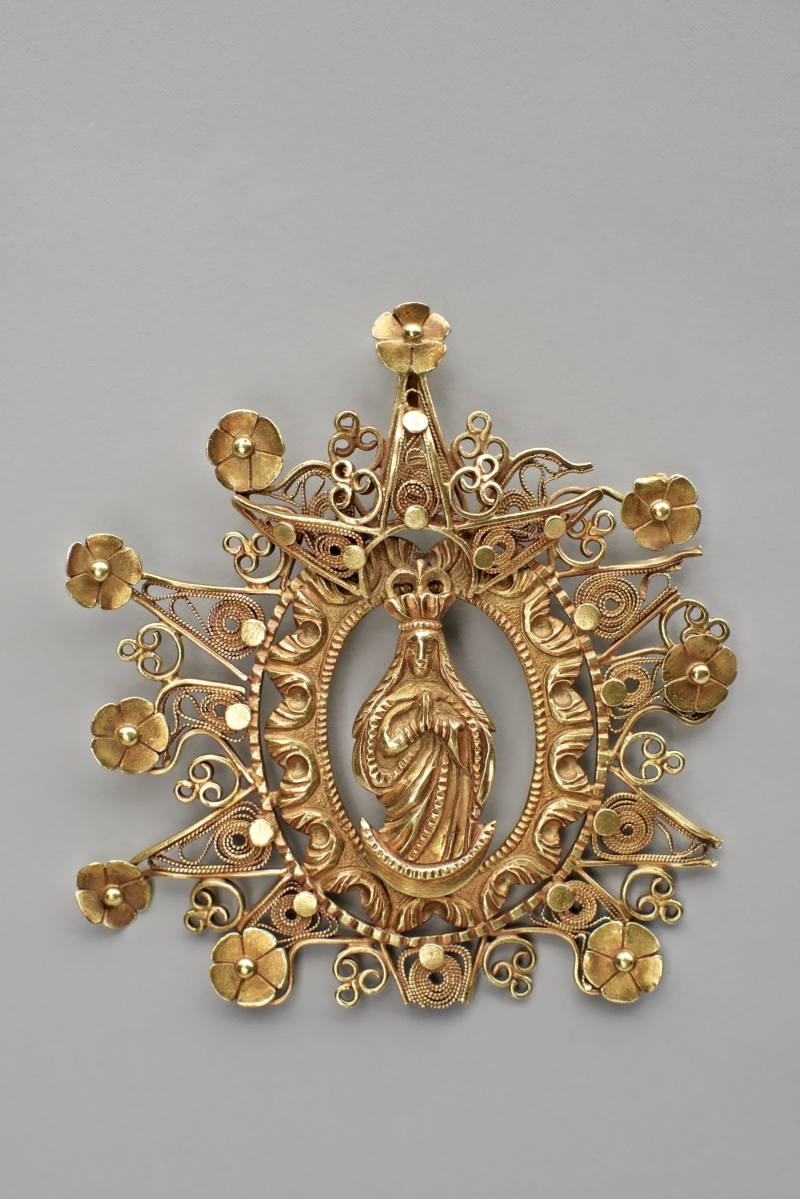 Medallion with the Immaculate Conception of the Virgin Mary