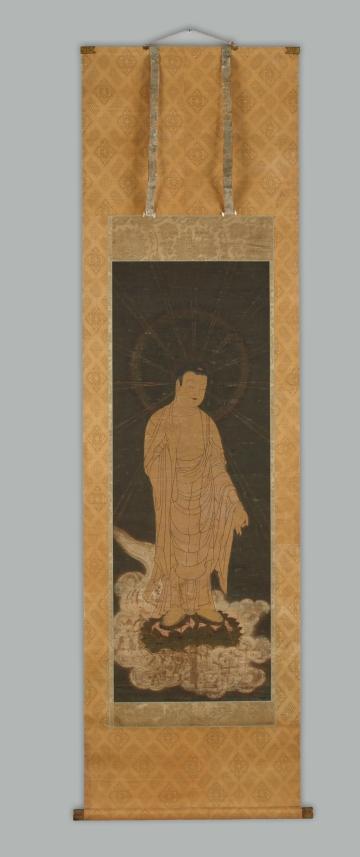Descent of Amida Buddha (Raigo)