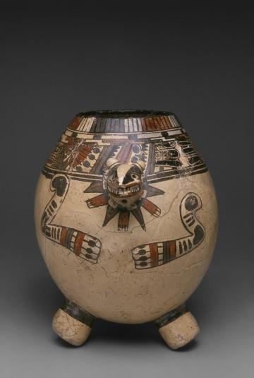Animal-form Tripod Jar