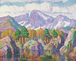 A Mountain Symphony (Longs Peak, Rocky Mountain National Park, Colorado)