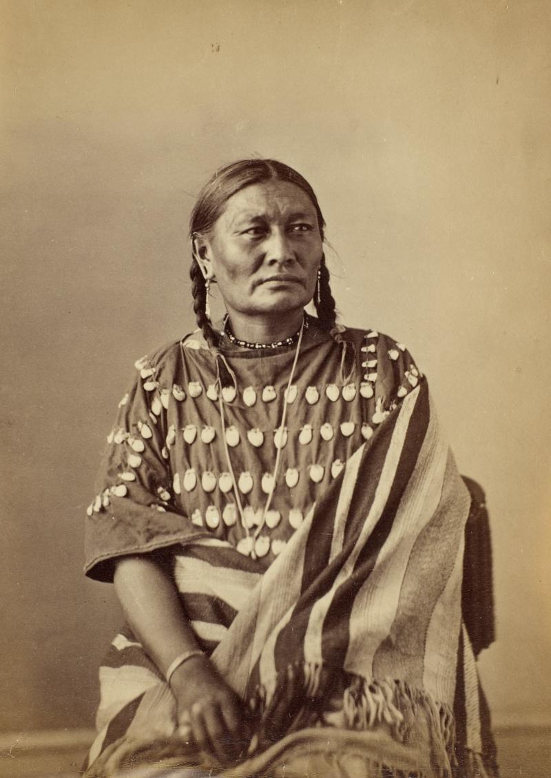 Wa-Hu-Wa-Pa or Va-How-A-Pah (Ear of Corn), Wife of Lone Wolf, Oglala Lakota