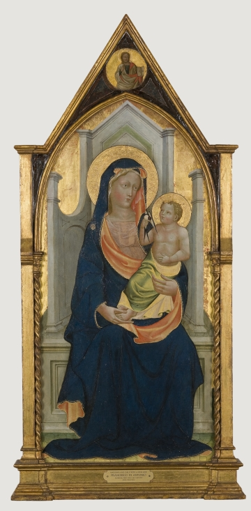 Madonna and Child with a Swallow