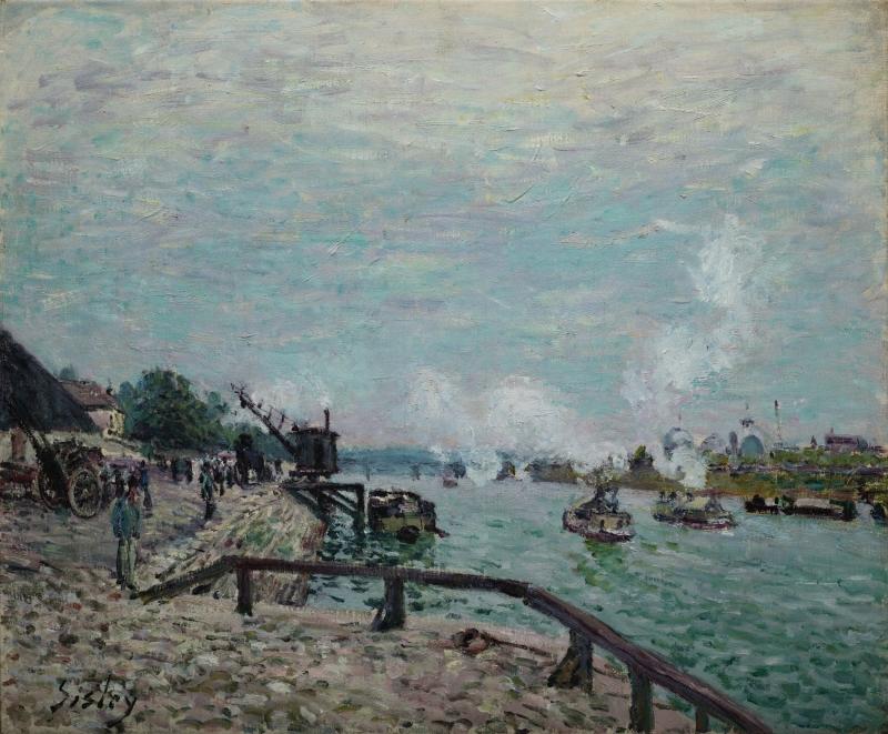 Seine at Grenelle (La Seine à Grenelle)