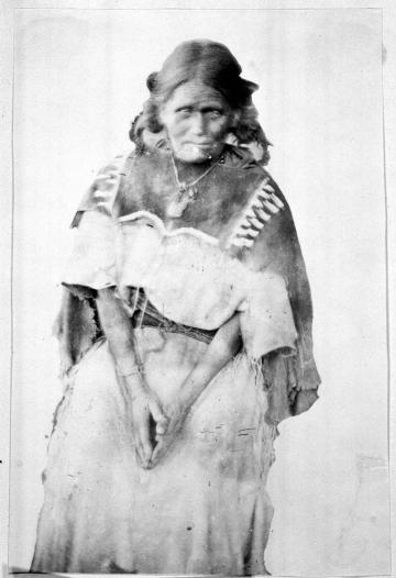 Apache Woman, Taos Pueblo