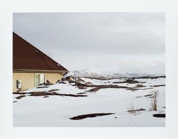 New House, Evanston, Wyoming from the series Frontcountry