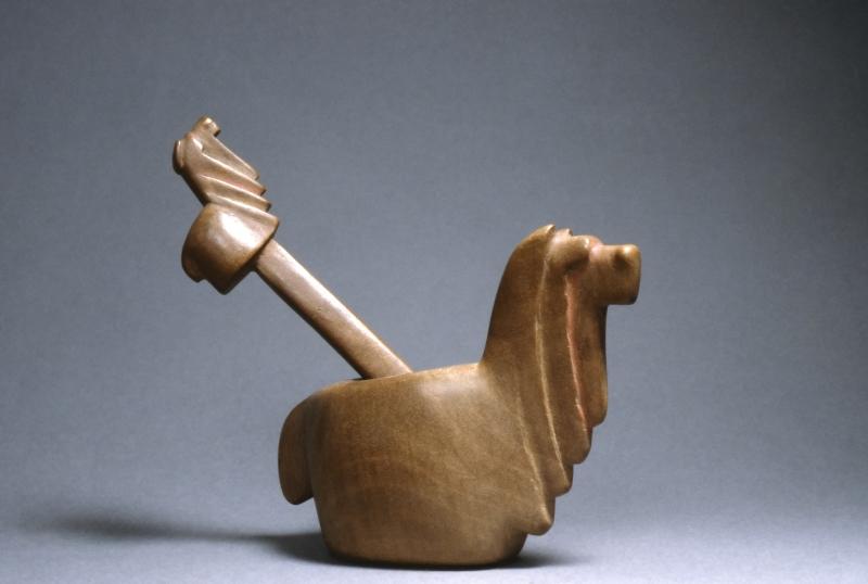 Alpaca-Form Container with spatula