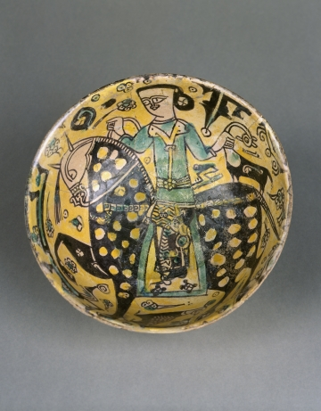 Bowl with Horseman