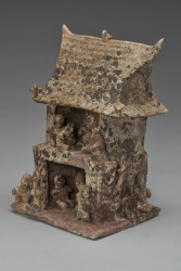 House Model with Figures