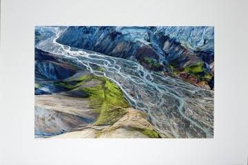 Braided Landscape, Landmannalaugar, Iceland